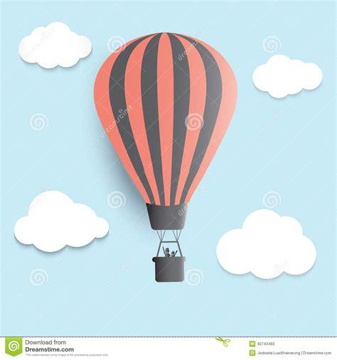 illustrator tutorial hot air balloon hot air balloons in the sky vector illustrator stock