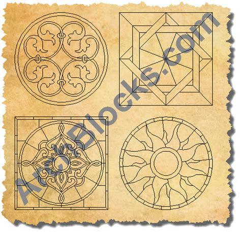 floor pattern cad block cad flooring tile medallions autocad floor meadllions