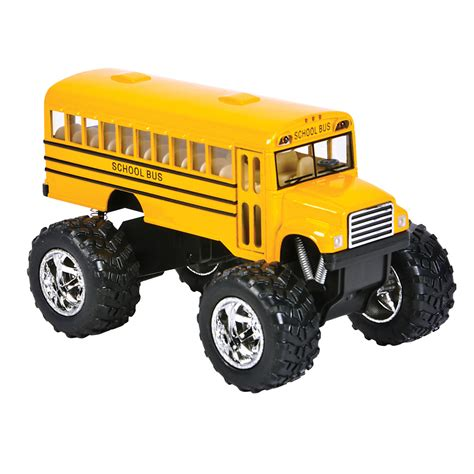 monster truck bus videos diecast pull back bus truck novelty toy vehicles