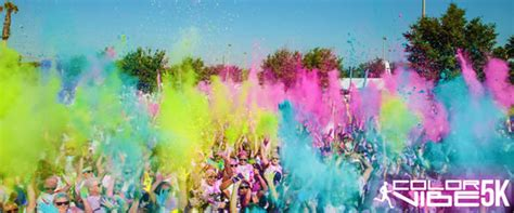 the color vibe the santa fe vip color vibe 5k
