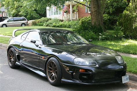 custom toyota supra twin turbo 1994 toyota single turbo aem ems supra na with full tt