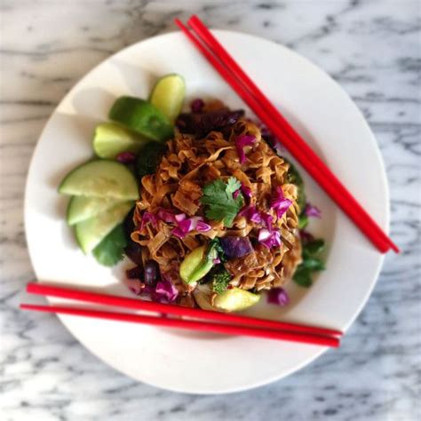 spicy indonesian street cart noodles mie goreng