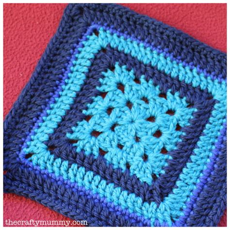 Zinging by Crochet Granny Square The Crafty Mummy