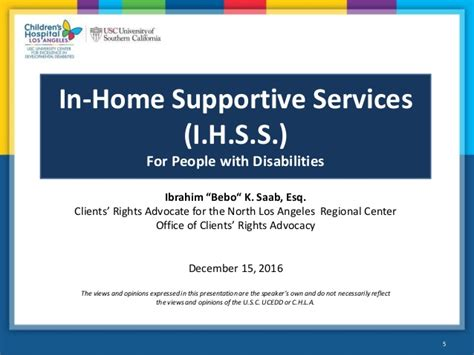 in home supportive services ihss home review