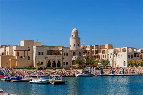 porto giordania barche in tala bay aqaba giordania fotografia stock