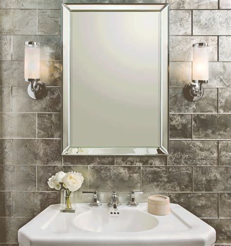 Mirror Tiles For Bathroom Bathrooms Bathroom Portland By Sacks