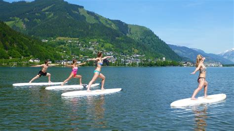 paddle boat zell am see summer sports summer holiday zell am see kaprun