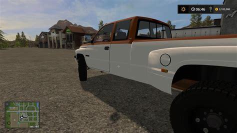 dodge work dodge ram work truck v1 fs 17 farming simulator 2017 mod