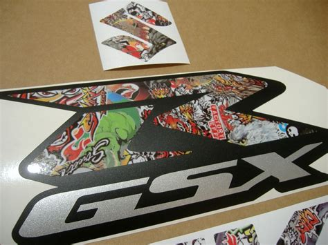 Gsxr 600 Stickers