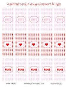 valentine candy wrapper printables u create