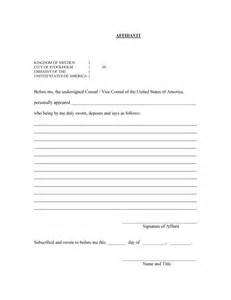 affidavit template doc doc 7681024 affidavit of template affidavit of