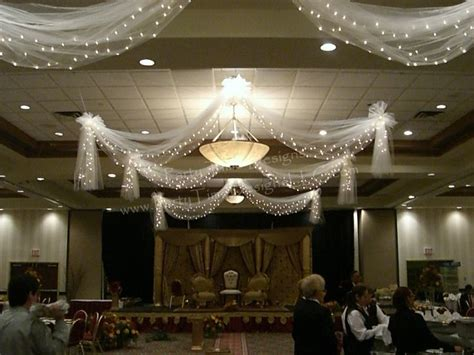 tulle draping tulle swags with lights wedding pinterest tulle