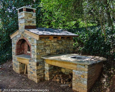 diy pit pizza oven pits fireplaces hammerhead stoneworks asheville