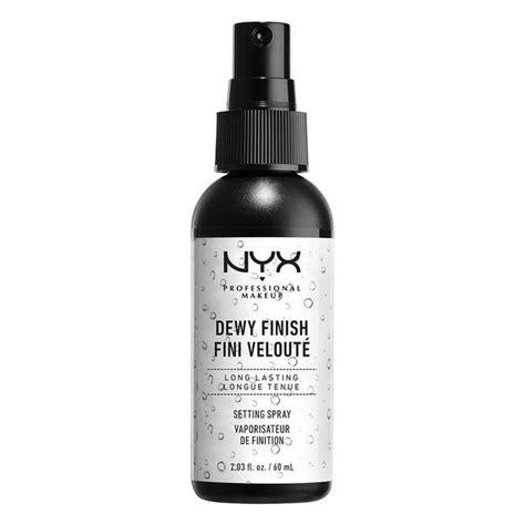 Spray Wajah Nyx 5 make up untuk tilan dewy look