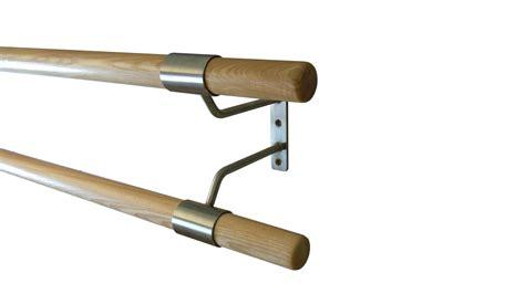 wall mounted double ballet barre double wall mounted ballet barre bracket