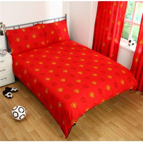 Manchester United Bedding Set Manchester United Duvet Cover Set New Utd Bedding Ebay