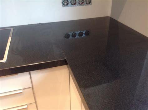 Granit Arbeitsplatte Polieren by Wuppertal Nero Assoluto Granit Arbeitsplatte