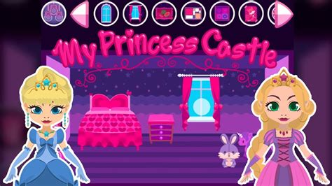 my doll house games my princess castle doll house game for iphone and android youtube