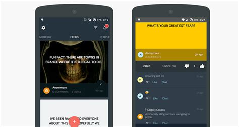 messaging app for android 10 anonymous messaging apps for android and ios