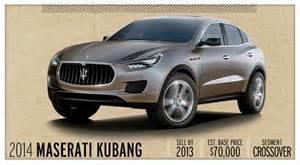 Maserati Suv 2012 Price 2014 Maserati Kubang Future Cars Car And Driver