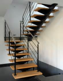 escalier 224 limon central d exception schaffner