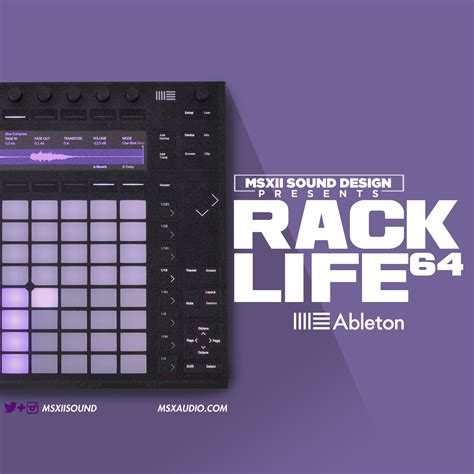 Ableton Live 9 Drum Rack by Free Sles Ableton Live 9 Rack 64 By Msxii The