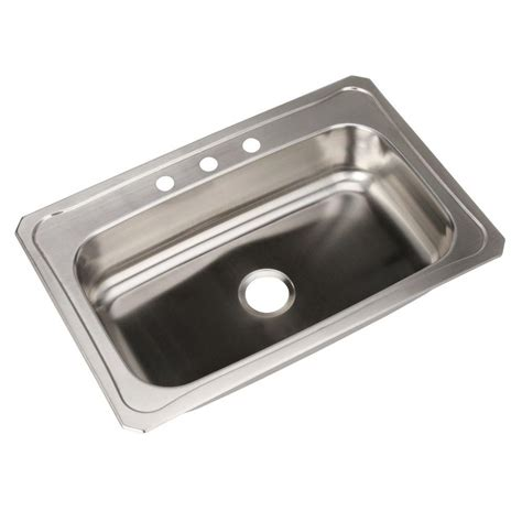 glacier bay drop in stainless steel 33 in 4 hole double glacier bay drop in stainless steel 33 in 4 hole double