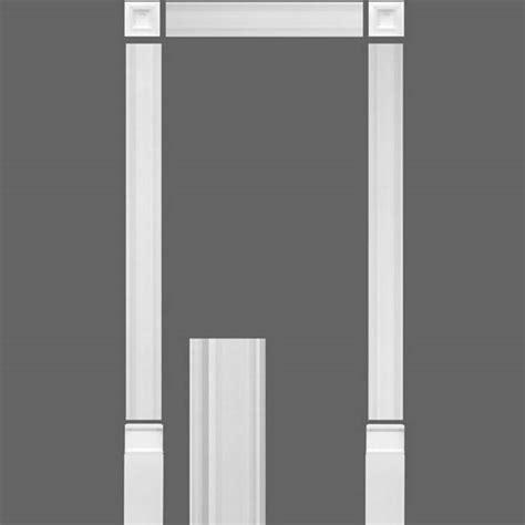 decorative frame door orac decor pilaster luxxus pilaster door frame kit kx003