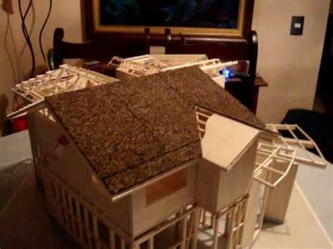 como hacer maquetas de madera maqueta vivienda en madera monik y henry youtube