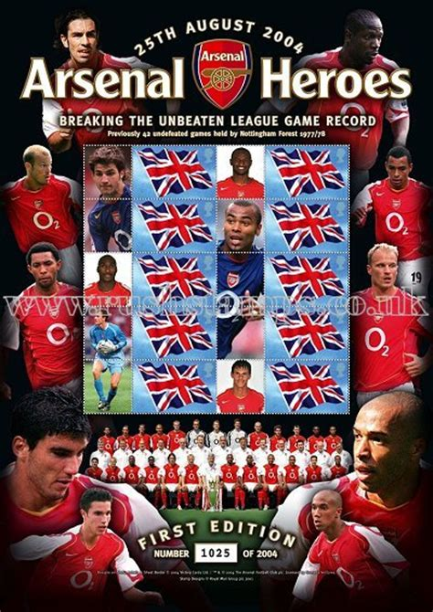 arsenal unbeaten record arsenal unbeaten record