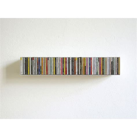 cd storage skandium compact disc shelf b by linea 1
