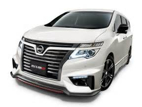 nissan elgrand nismo packaged black and silver