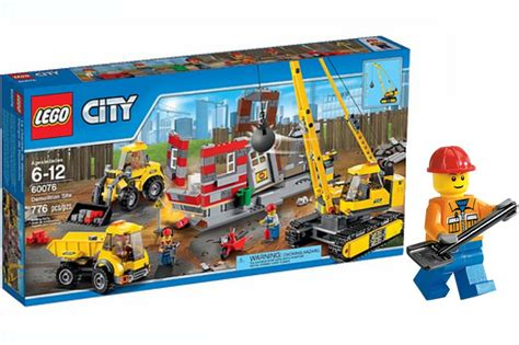 Lego City Construction 2in1 lego city demolition site 60076 2015 review overview hd