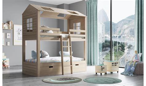 muebles literas infantiles litera infantil 3 camas 2 aguas casita en portobellostreet es