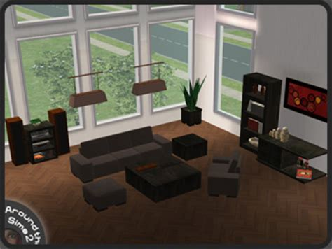 sims 2 living room set around the sims 2 objects living room anya