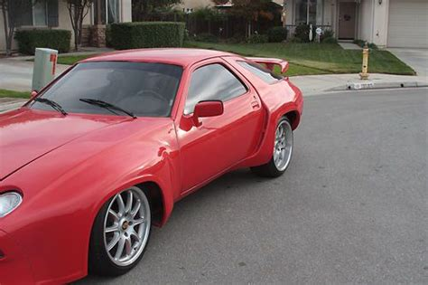 1979 porsche 928 body kit sell used 1979 80 converted to wide body style in