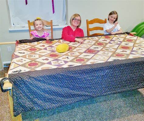 How To Make A Quilt At Home by Easy Sewing Projects For