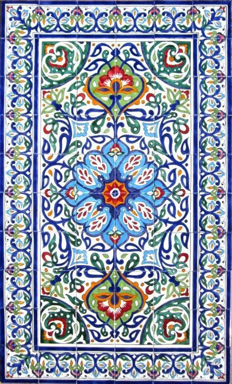 decorative persian tiles persian design mosaic panel hand painted wa