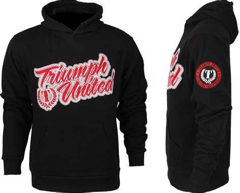 Hoodie Triump United Jiu Jitsu triumph united script pullover hoodie