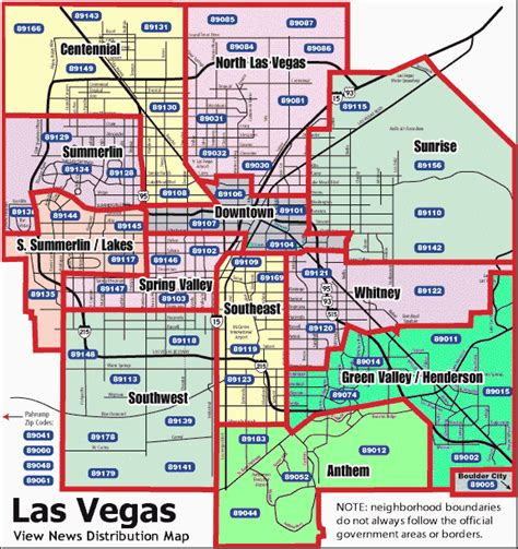 zip code map for las vegas neighborhoods overview map with zip codes las vegas