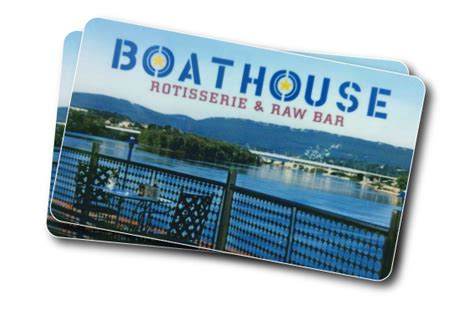 Boathouse Gift Card - get your boathouse on the boathouse restaurant merchandise