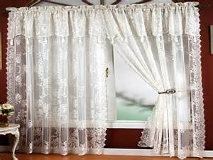 Lace Curtains With Attached Valance Window Curtains Design Lace Panel Curtains With Attached Valance Italian Lace Curtain Panels