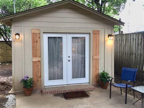 garage converted into 340 sq garage converted into 320 sq ft backyard cottage