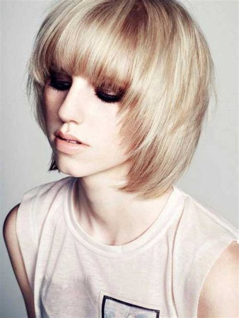 hairstyles for fine hair bangs short hairstyles for thin hair with bangs the best short