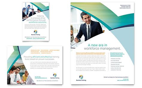 course brochure template education flyers templates designs