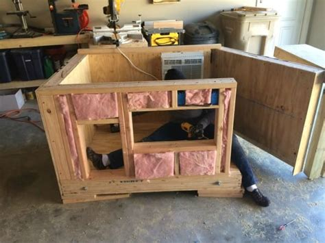 how to build an insulated dog house for large dog to build an insulated dog house how to build an insulated dog house dog breeds picture