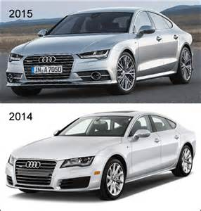 2015 audi a7 gets minor facelift still fast in the back
