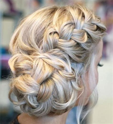 hairbuns on pinterest french braid buns updo and updos side braid with a braided side bun too braided