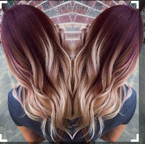 ambre bolosh hairstyles 25 best ideas about burgundy hair on pinterest red