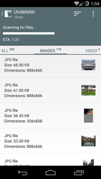undelete photos android how to recover deleted photos android 2014